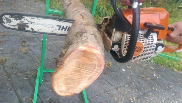 Avec Timber Croc la chaine de la tronçonneuse ne se coince jamais